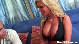 Moms With Boys – Slutty Blonde Housewife Diamond Fox Pierced Pussy Drilled