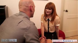 Naughty America – Small Jugged Claire Robbins Fuck In The Office