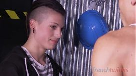 French Twinks Studios – A Big Tool For A Young Apprentice