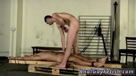 Teenage Male Bondage Gay First Time Made To Suck His First Cock